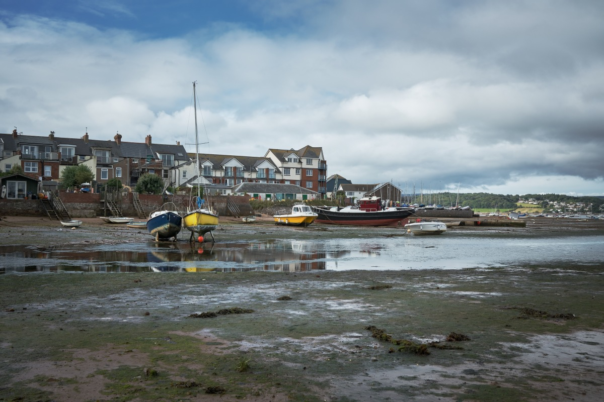 Low tide atExmouth
